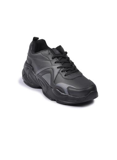 Slazenger Investa Siyah Kadın Spor Ayakkabı Siyah